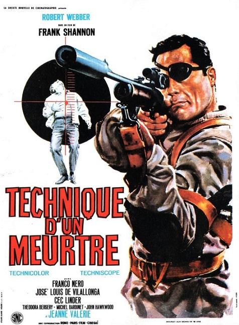 Technique d'un meurtre. Tecnica di un omicidio. 1966. Franco Prosperi. Media14