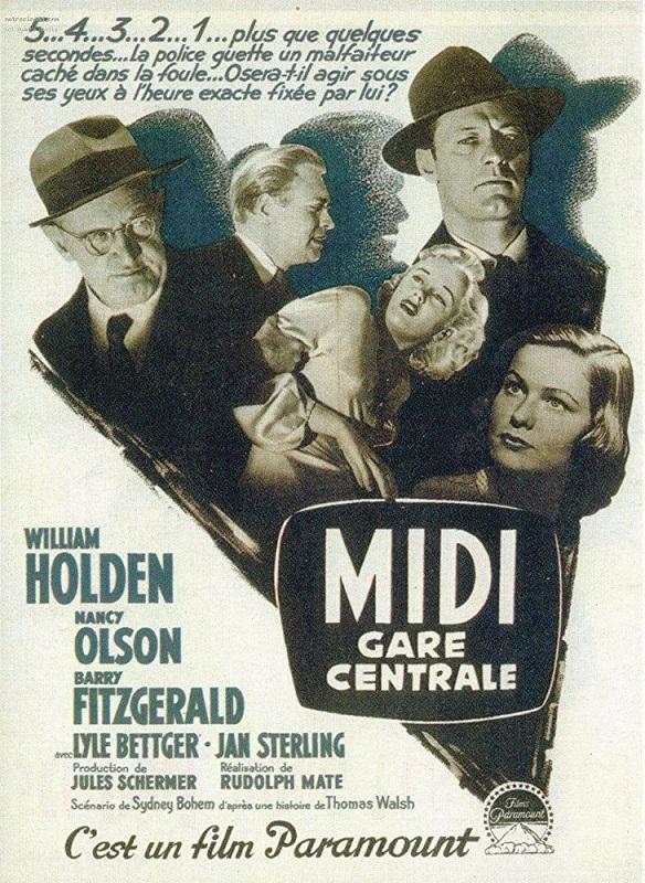 Midi, gare centrale. Union Station. 1950. Rudolph Maté. Midi_g10