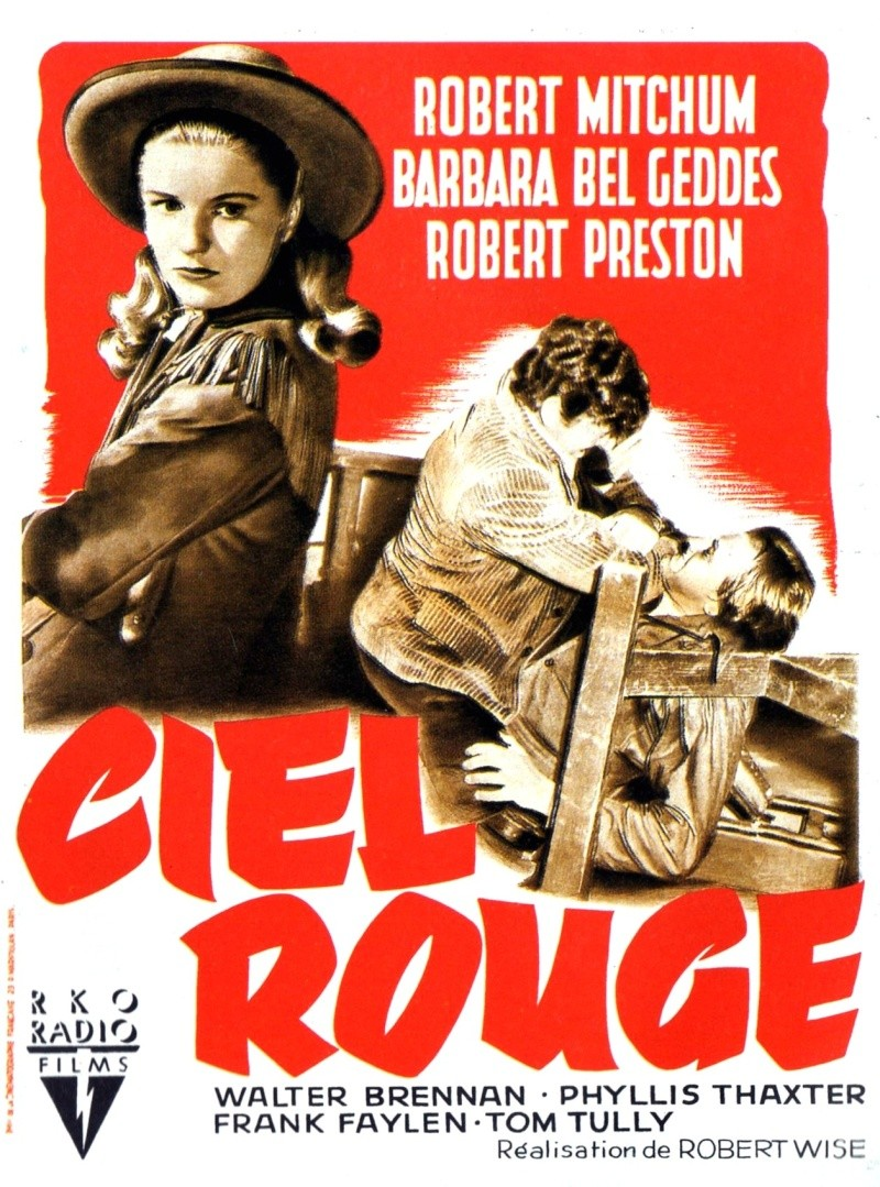 Ciel rouge. Blood on the moon. 1948. Robert Wise. Moviec10