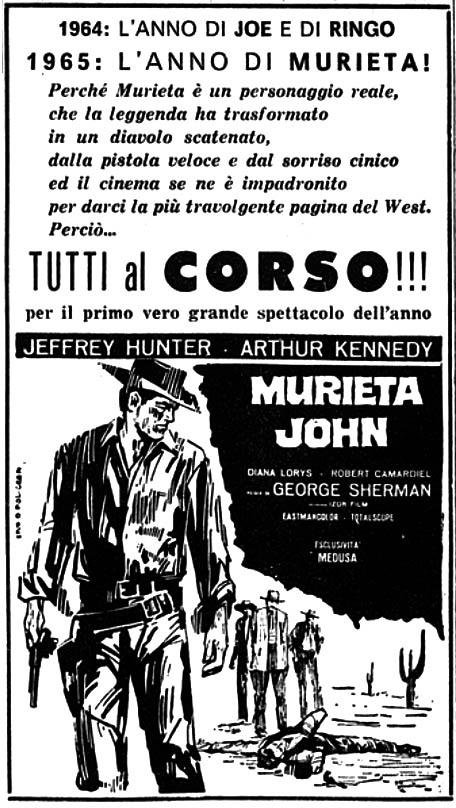 Murieta! - Joaquín Murrieta - 1964 - George Sherman Muriet10