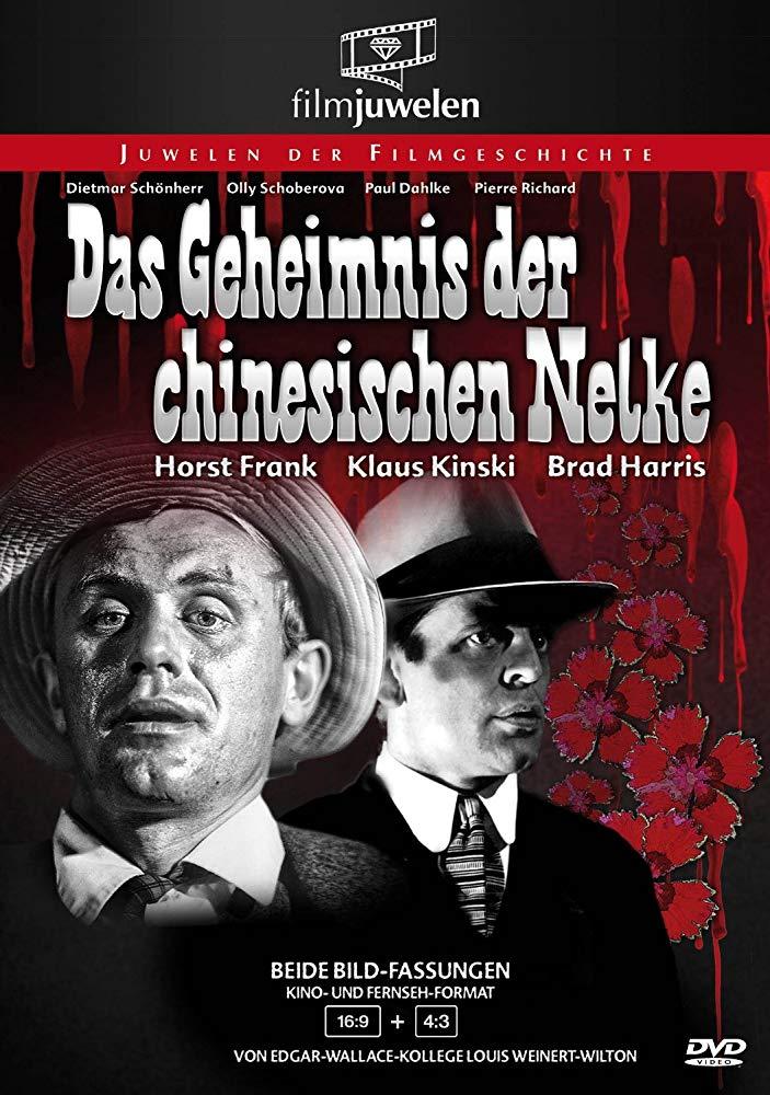F.B.I. contre l'Oeillet chinois. Das Geheimnis der chinesischen Nelke. 1964. Rudolf Zehetgruber. Mv5bmm10