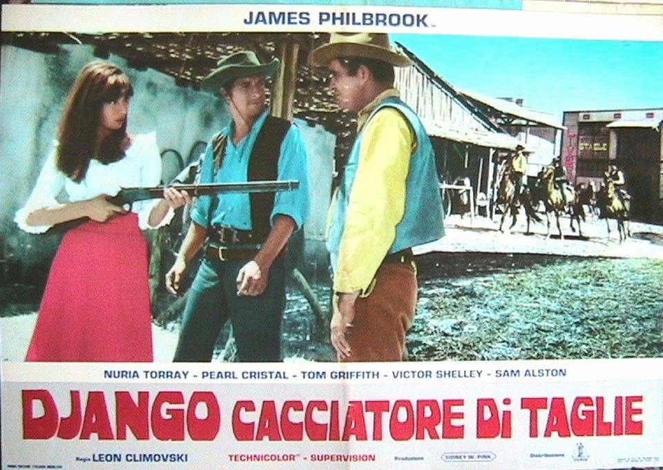 2.000 dolares por Coyote / Django cacciatore di taglie . 1966 . Leon Klimovsky  . Mv5bmz14