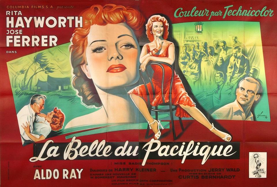 La Belle du Pacifique. Miss Sadie Thompson. 1953. Curtis Bernhardt. Mv5bng10