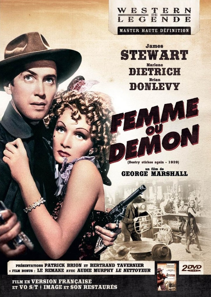 Femme ou Démon. Destry Rides Again. 1939. George Marshall. Ob_50d10