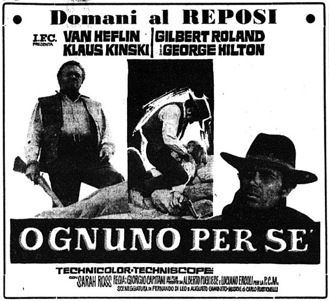 Chacun pour soi ( Ognuno per Se ) –1967- Giorgio CAPITANI - Page 5 Ognuno10