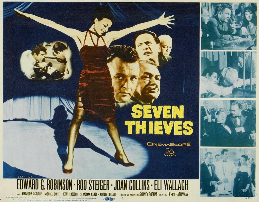 Les Sept Voleurs - Seven Thieves - Henry Hathaway - 1960 Origin12