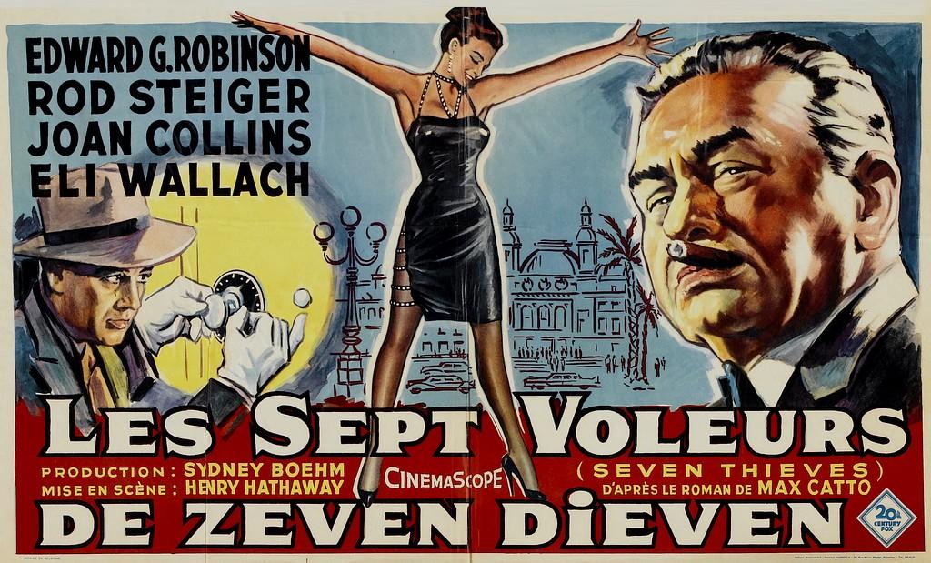 Les Sept Voleurs - Seven Thieves - Henry Hathaway - 1960 Origin13