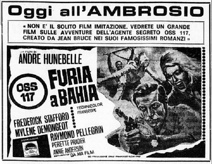 Furia à Bahia pour OSS 117 - 1965 - André Hunebelle Oss11710