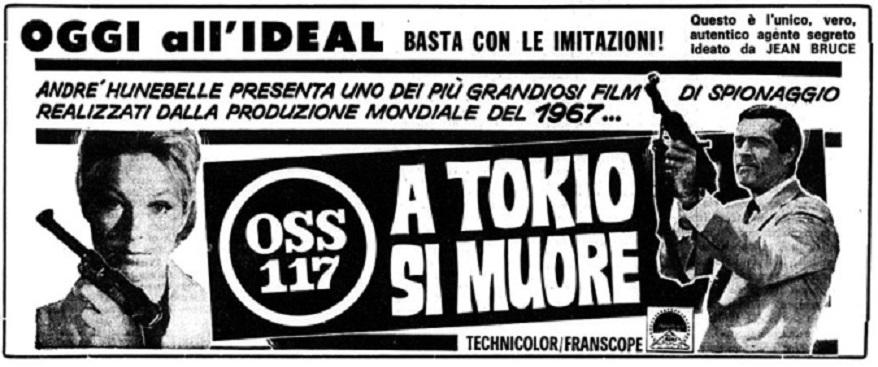 Atout Coeur à tokyo pour OSS 117 - 1966 - Michel Boisrond Oss11711