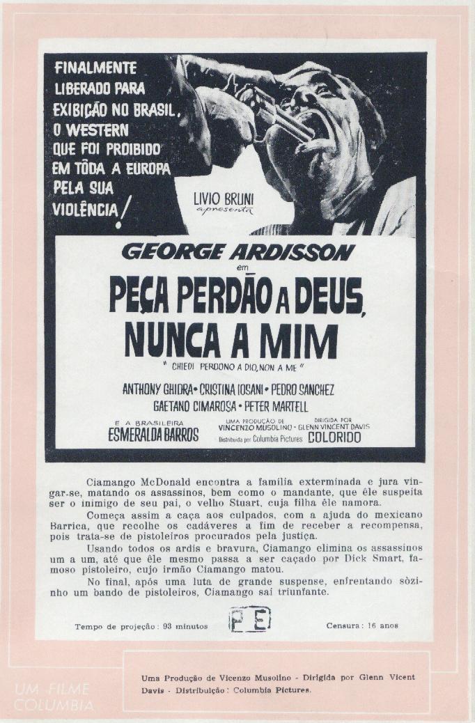 Demande pardon à Dieu pas à moi (Chiedi perdono a Dio non a me) de Vincenzo Musolino, 1969. - Page 2 Peca-p10