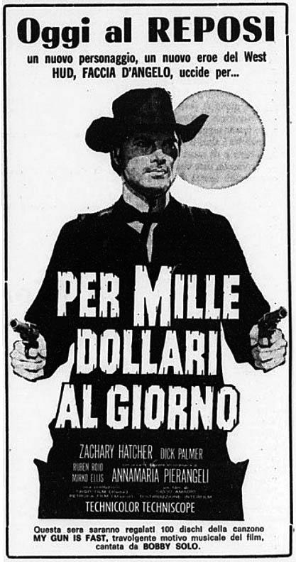 Pour 1000 dollars par jour - Per mille dollari al giorno - 1965 - Silvio Amadio Per-mi10