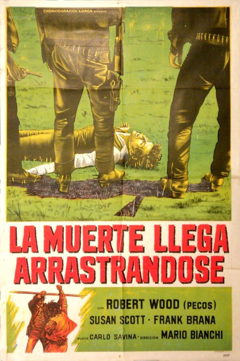 Poker d'As pour un Gringo - La muerte llega arrastrándose - Hai sbagliato... dovevi uccidermi subito-Mario Bianchi , 1972 Poker-10