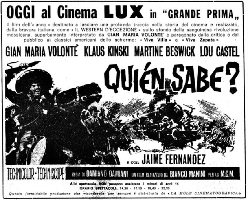 El Chuncho (El Chuncho, Quién Sabe?) - 1967 - Damiano Damiani - Page 2 Quizon10