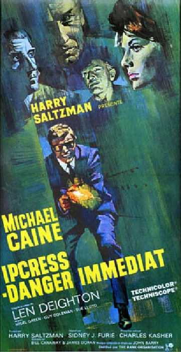 Ipcress Danger immédiat - Ipcress Files - Sidney J. Furie - 1965 Repro-10