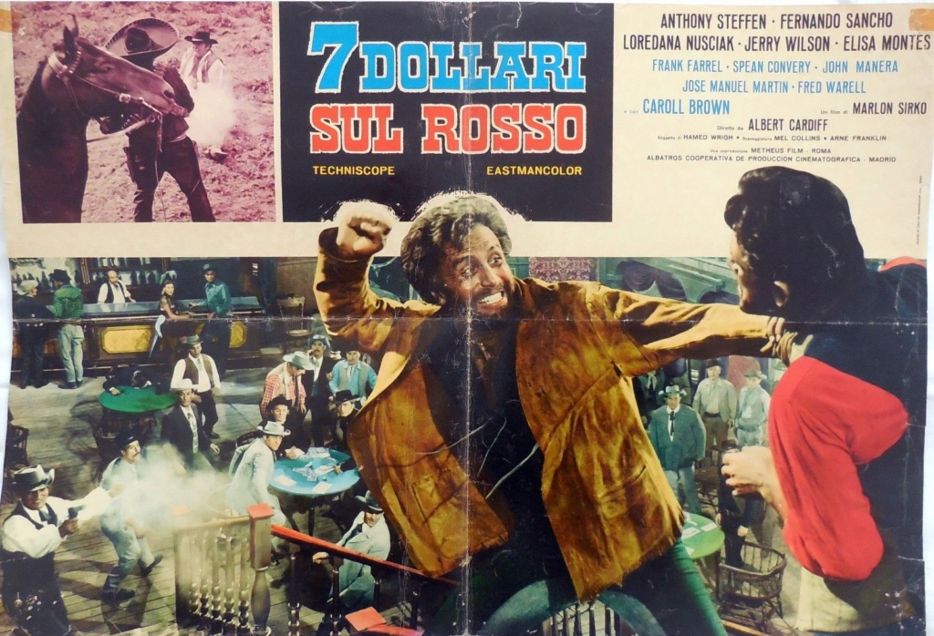 Gringo Joue sur le Rouge (7 Dollarisul Rosso) - 1966 - Alberto Cardone S-l16017