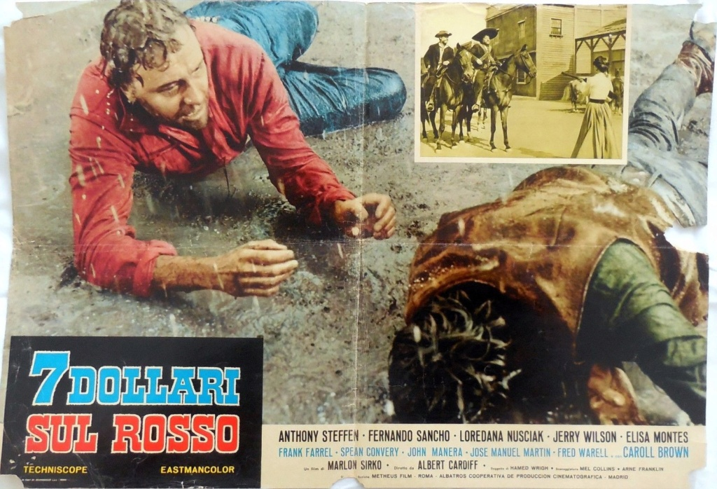 Gringo Joue sur le Rouge (7 Dollarisul Rosso) - 1966 - Alberto Cardone S-l16018