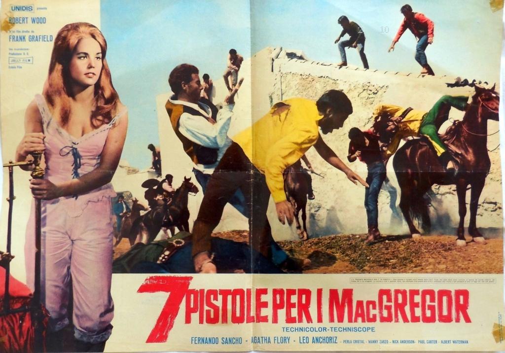 Sept écossais au Texas - Sette pistole per i McGregor - Franco Giraldi, 1965 - Page 2 S-l16025