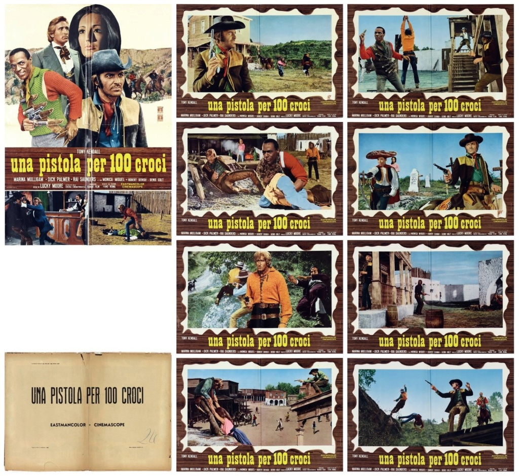Sartana, pistolet pour 100 croix - Una pistola per cento croci - 1971 - Carlo Croccolo - Page 2 S-l16026