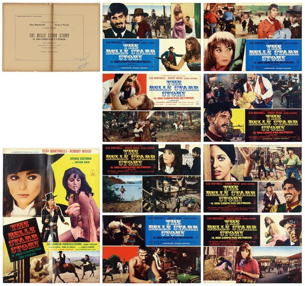 The Belle Starr Story (Il Mio Corpo per un poker) –1968- Piero CRISTOFANI S-l16027