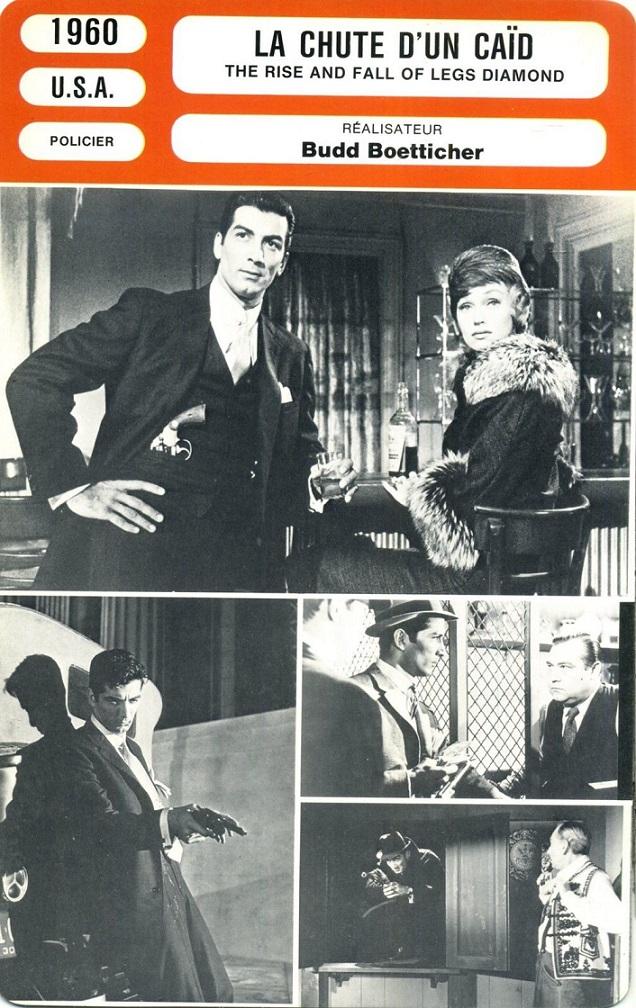 La Chute d'un Caïd - The Rise and Fall of Legs Diamond - 1960 - Budd Boetticher S-l16041