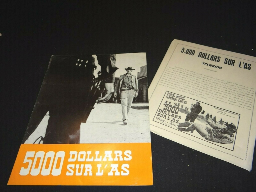 5.000 dollars sur l'as . Pistoleros de Arizona . 1964 . Alfonso Balcazar. S-l16050