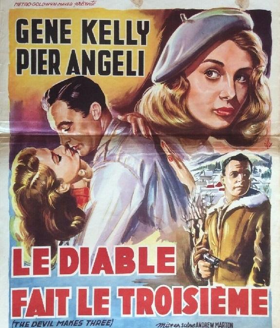 Le Diable fait le troisième. The Devil Makes Three. 1952. Andrew Marton. S-l16061