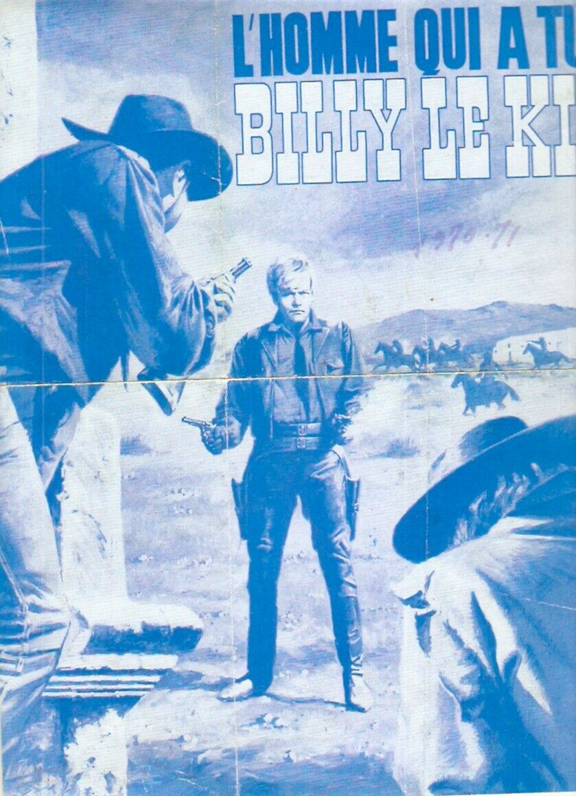 L'homme qui a tué Billy le Kid - El hombre que mató a Billy el Niño - 1967 - Julio Buchs S-l16082