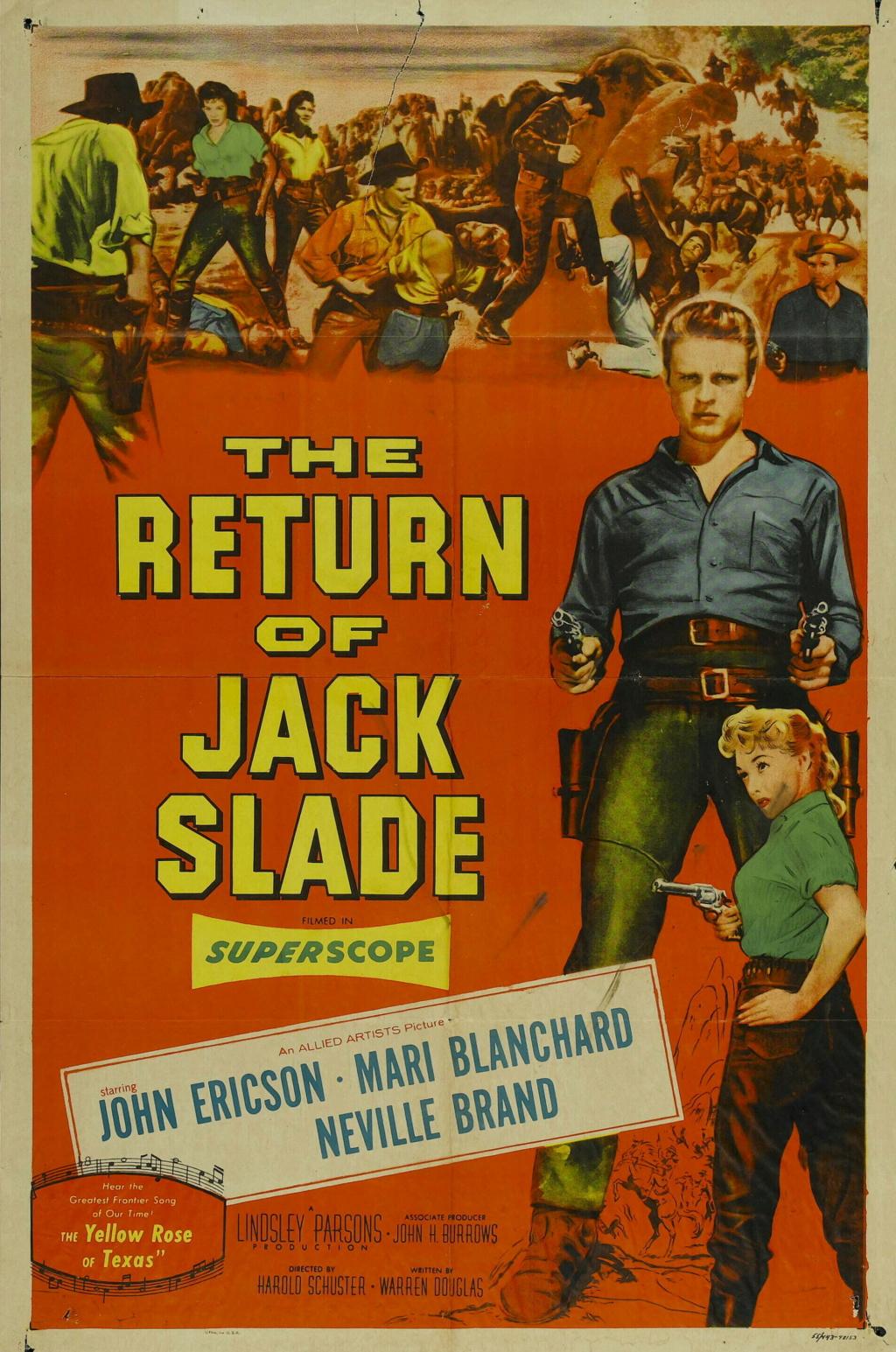 Jack Slade le damné - Jack Slade - 1953 - Harold Schuster Sansti10
