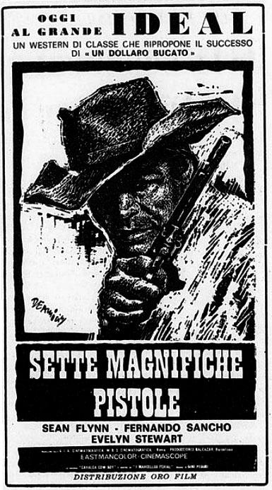 7 colts du tonnerre ( Sette magnifiche pistole ) –1966- Romolo GIROLAMI Sette-10