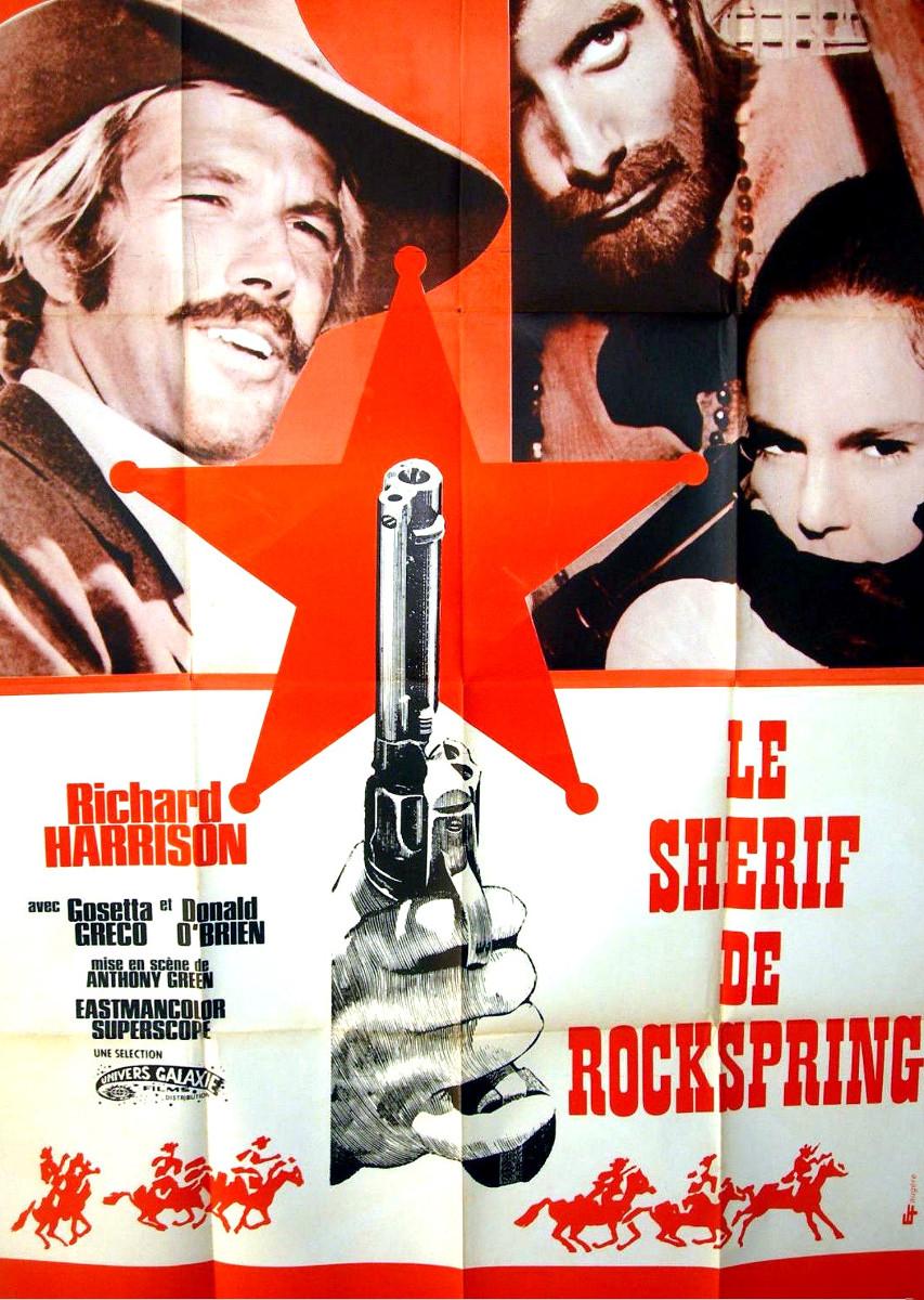 Le shérif de Rockspring ( Lo Scheriffo di Rockspring ) –1971- Mario SABATINI Sherif10