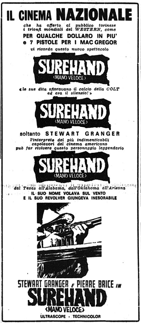 Frontière ardente - Old Surehand - 1965 - Alfred Vohrer Sureha11