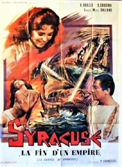 La Charge de Syracuse. L'assedio di Siracusa. 1960. Pietro Francisci. Syracu10