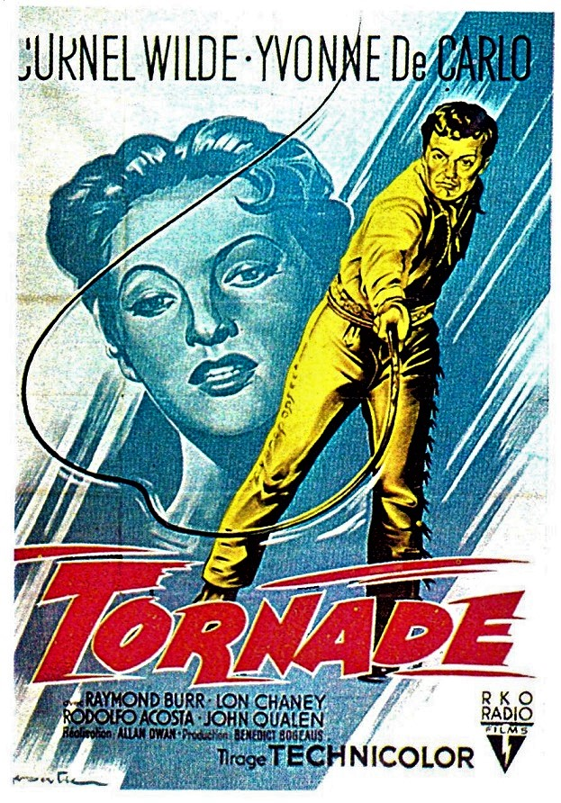 Tornade - Passion - Allan Dwan - 1954 Tornad10