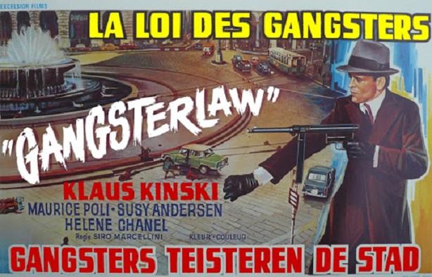 La Loi des gangsters. La legge dei gangsters. 1969. Siro Marcellini. Unname13