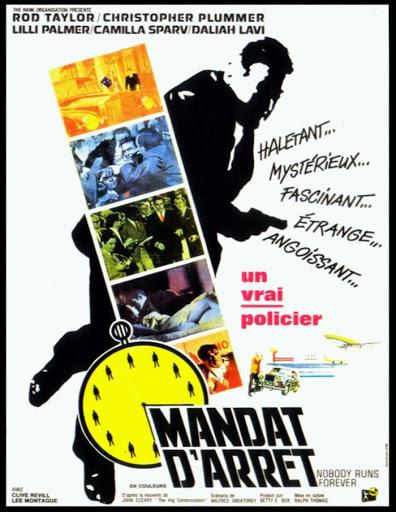 Mandat d'Arrêt - The High Commissioner - 1968 - Ralph Thomas Unname14