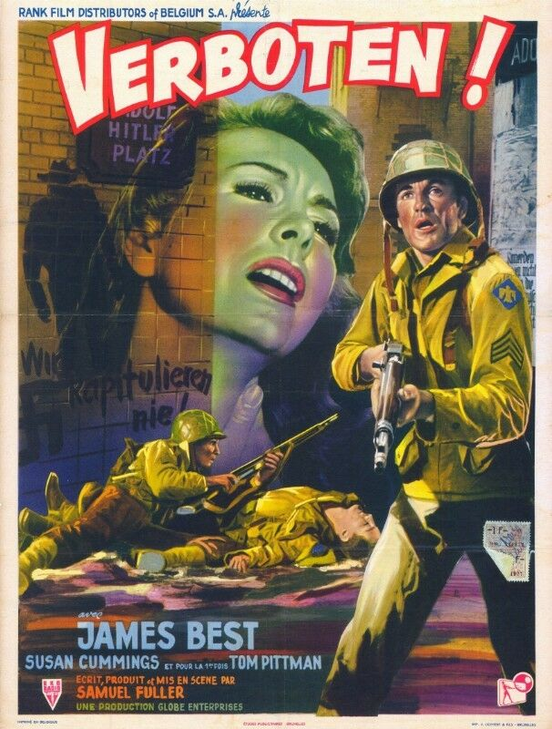 Ordres secrets aux espions nazis - Verboten! - 1959 - Samuel Fuller Verbot10