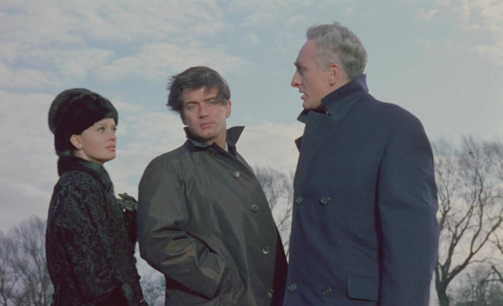 Du suif dans l'Orient-Express. Schüsse im Dreivierteltakt. 1965. Alfred Weidenmann. Vlcs1107