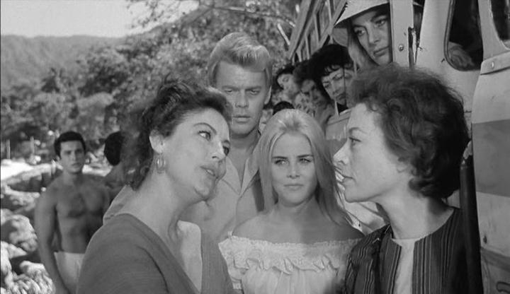 La Nuit de l'iguane. The Night of the Iguana. 1964. John Huston. Vlcs1182