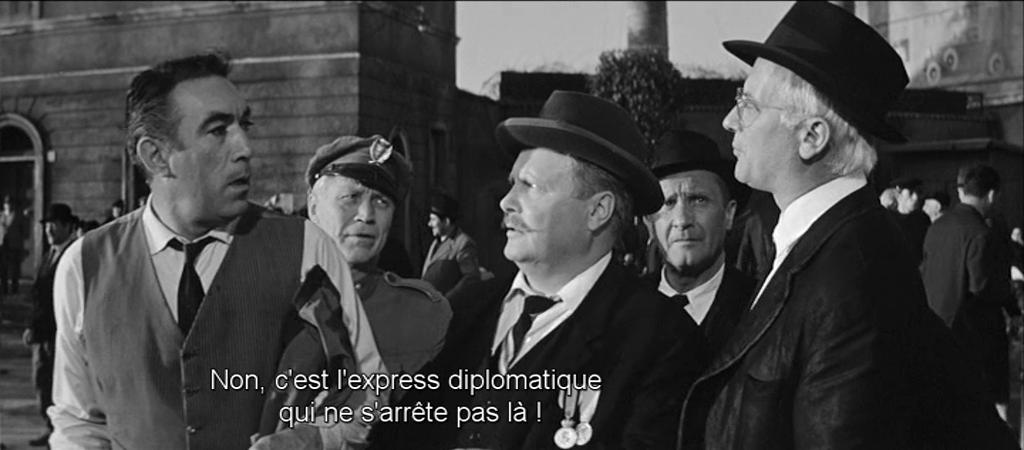 La Rancune. The Visit. 1964. Bernhard Wicki. Vlcs1225