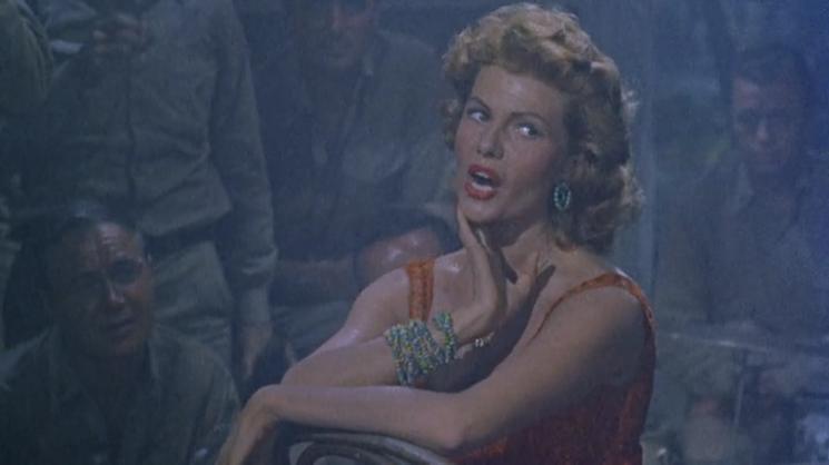 La Belle du Pacifique. Miss Sadie Thompson. 1953. Curtis Bernhardt. Vlcs1233