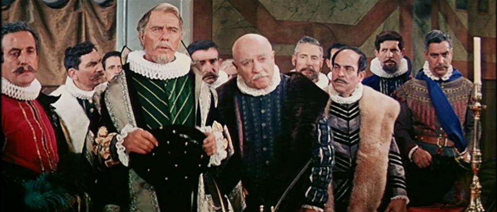 Les aventures extraordinaires de Cervantès. Cervantes. 1967.  Vincent Sherman . Vlcsn319