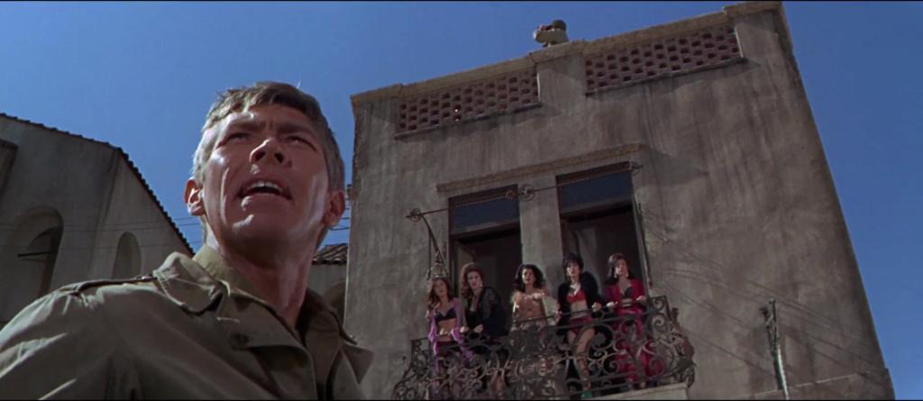 Qu' As Tu Fais à la Guerre Papa ? What Did You Do in the War, Daddy? - Blake Edwards - 1966 Vlcsn514
