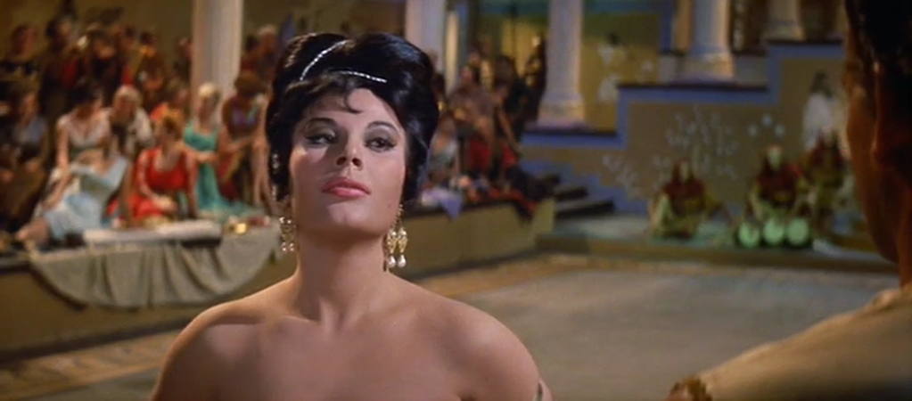 Esther et le Roi. Esther and the King. 1960.  Raoul Walsh et Mario Bava. Vlcsn558
