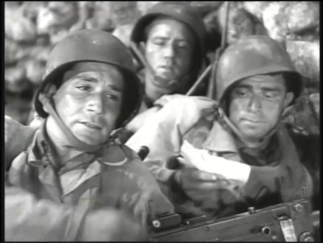 Le Commando de la mort. A Walk in the Sun. 1945. Lewis Milestone. Vlcsna12