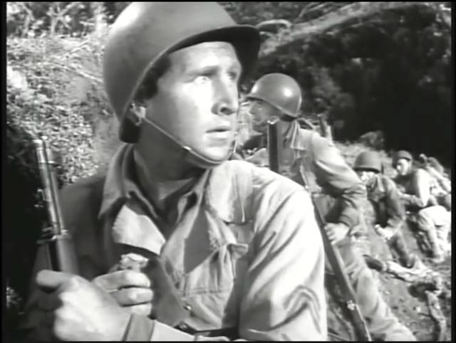Le Commando de la mort. A Walk in the Sun. 1945. Lewis Milestone. Vlcsna14