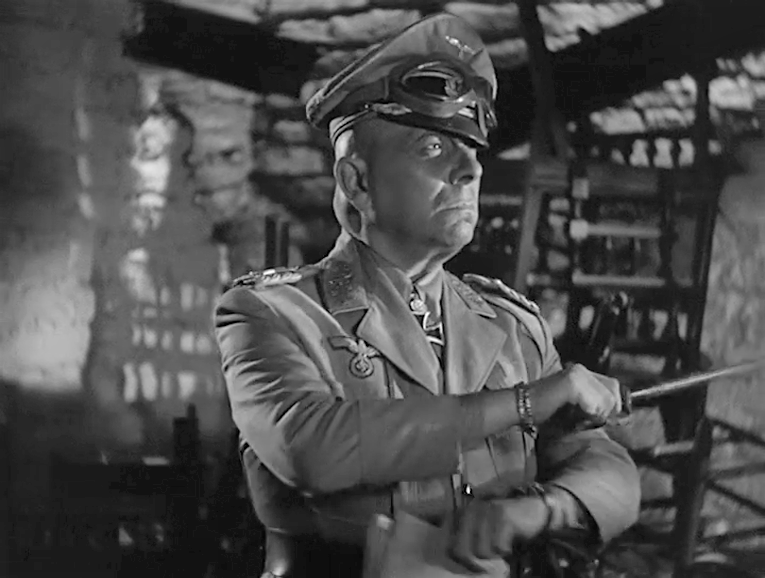 Les Cinq Secrets du désert. Five Graves to Cairo. 1943. Billy Wilder. Vlcsna70