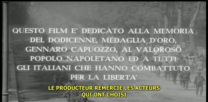 La Bataille de Naples. Le quattro giornate di Napoli. 1962. Nanni Loy. Vlcsna89