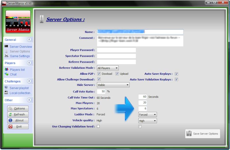 Création d'un compte pour héberger le serveur Sans-t13