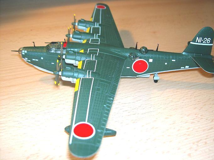 "Kawanishi H8K2 ""Emily"", Fertigmodell 1:144 Emily-10"
