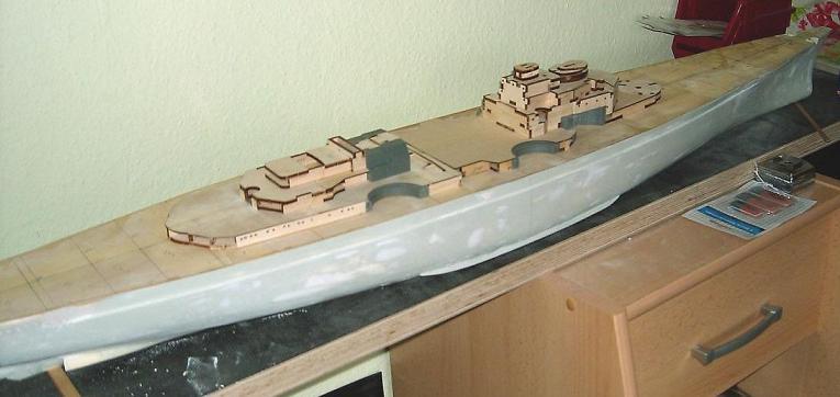 redfort´s Hachette- Bismarck in 1:200 - die unvollendete ! Pic01010